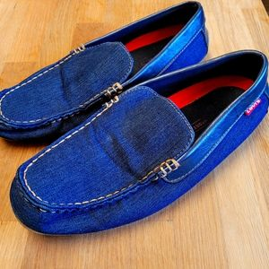 LEVI'S Mens Denim Loafer Size 12